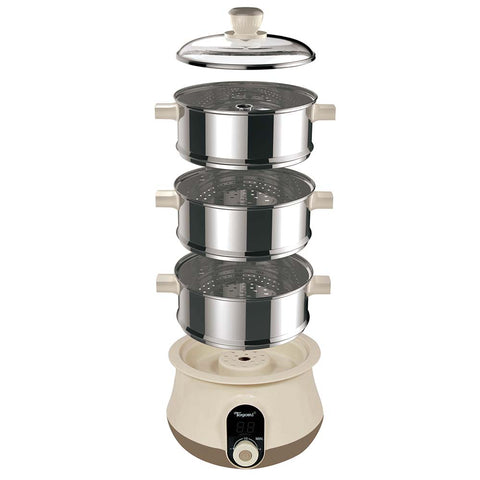 TOYOMI 1.0L Mini Stainless Steel Steamer ST 2018