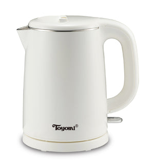 TOYOMI 1.0L Stainless Steel Electric Cordless Kettle WK 1029