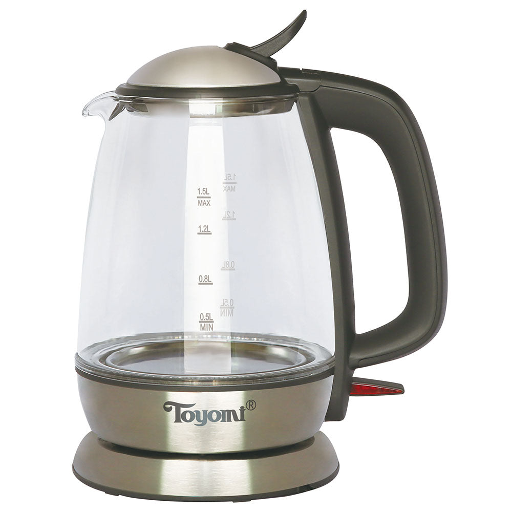 TOYOMI 1.5L Electric Glass Kettle WK 1531