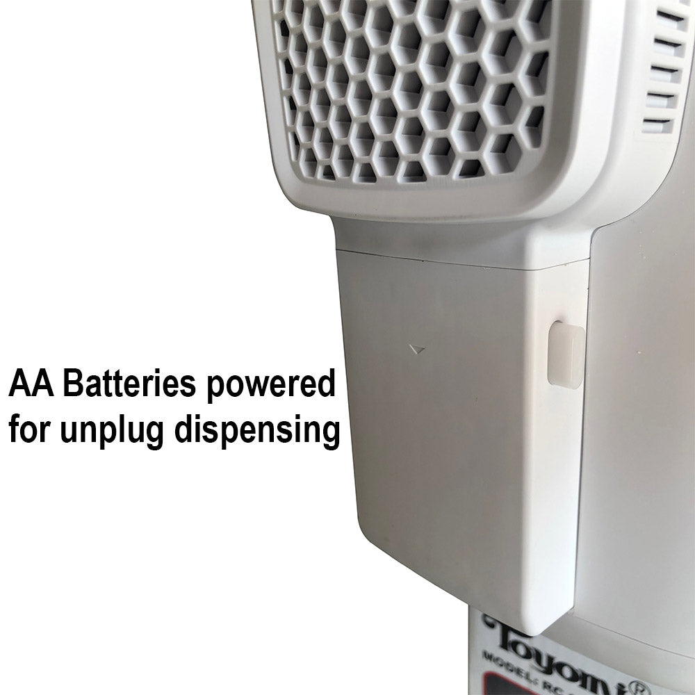TOYOMI 5.0L Micro-com Electric Airpot with Battery Pack and Ventilating Fan EPA 5588