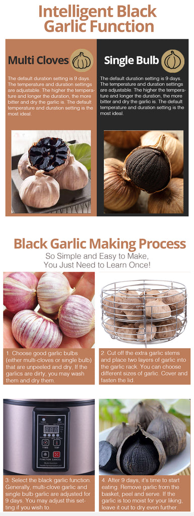 TOYOMI 5.0L Micro-com Multi Healthy Pot (Black Garlic Maker) BGM 8810