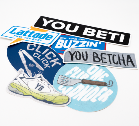 YB Sticker Pack - Complete Collection