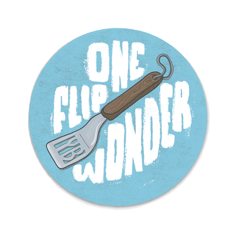 One Flip Wonder Sticker