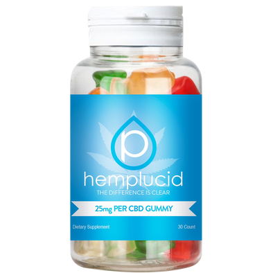 Hemplucid 750mg Edible Gummies - 30 Pack