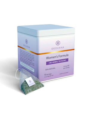 Geovana 30mg Women's Formula CBD Tea