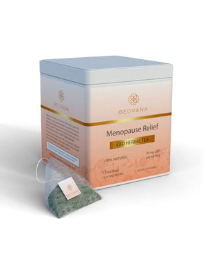 Geovana 30mg Menopause Relief CBD Tea