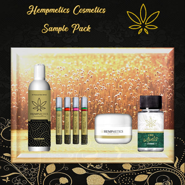 Hempmetics Sample Pack