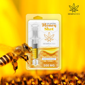 Hempmetics 500mg CBD Infused Honey Shot