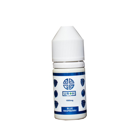 Urth CBD 1000mg Blue Raspberry Vape Tincture
