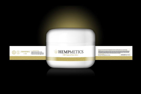 Hempmetics 1000mg Topical Pain Salve