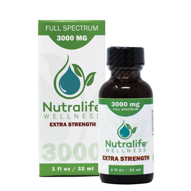 Nutralife 3000mg Extra Strength Full Spectrum Hemp Oil