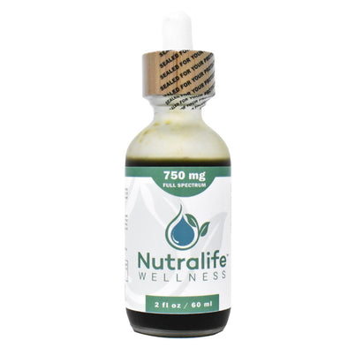 Nutralife 750mg Full Spectrum Hemp Oil