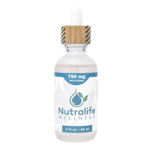 Nutralife 750mg Iso-Filtered Hemp Oil