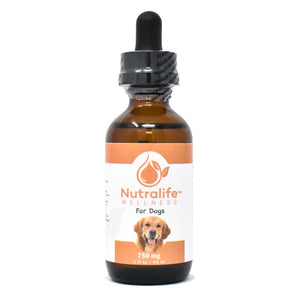 Nutralife 750mg Hemp Oil for Dogs