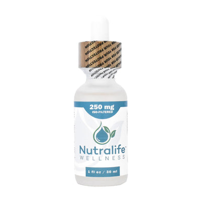 Nutralife 250mg Iso-Filtered Hemp Oil