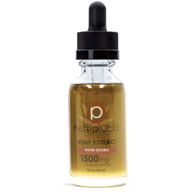 Hemplucid 1500mg Tincture Water Soluble