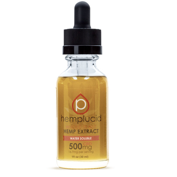 Hemplucid 500mg Tincture Water Soluble