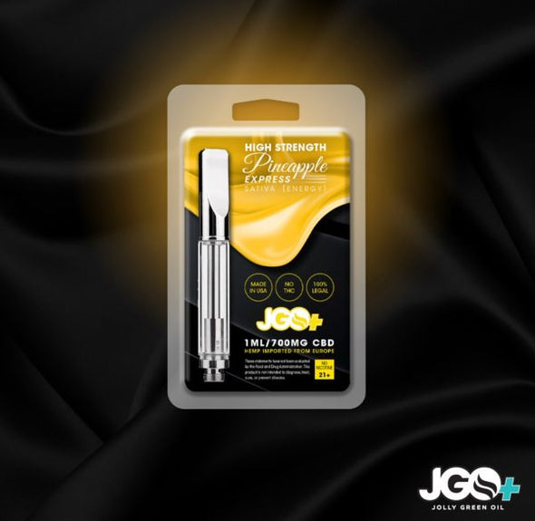 JGO+ 700mg Pineapple Express CBD