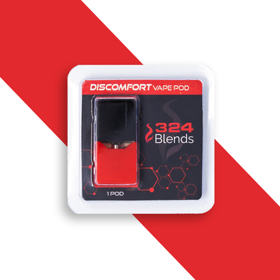 324 Blends 100mg Discomfort Vape Pod