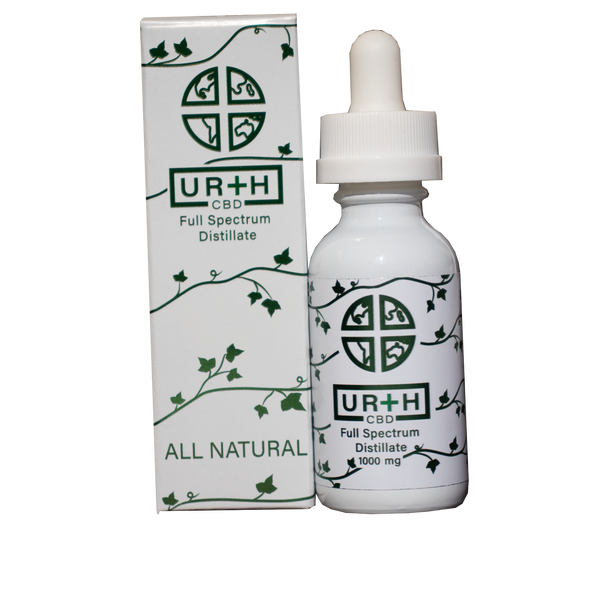 Urth CBD 1000mg Natural Tincture