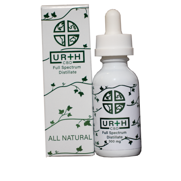 Urth CBD 300mg Natural Tincture