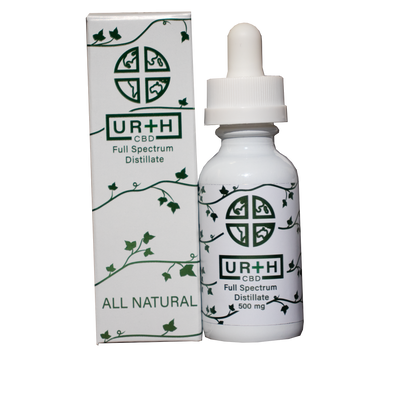Urth CBD 500mg Natural Tincture