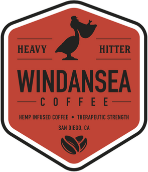 Windansea 312mg Heavy Hitter Hemp Infused Coffee -Therapeutic Strength