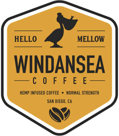 Windansea 156mg Hello Mellow Hemp Infused Coffee - Normal Strength