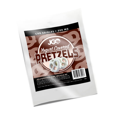 200 MG CBD Yogurt Covered Pretzels