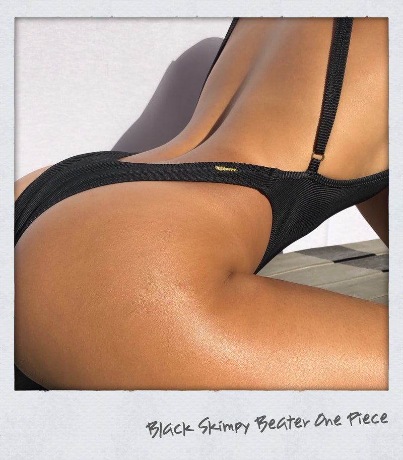 Skimpy Beater One Piece Black