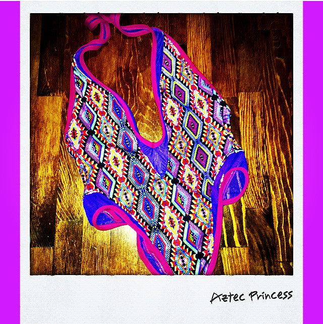 Aztec Princess Mesh One Piece