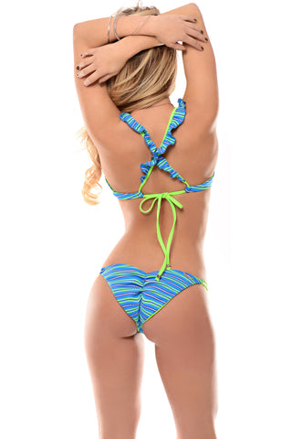 La Coqueta Double String Bottom