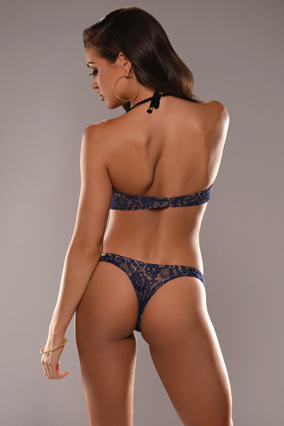 Midnight Lace Tanga