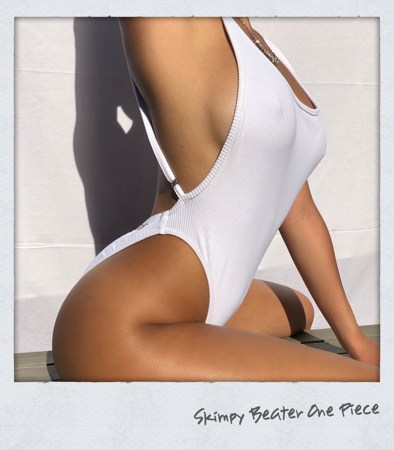 Skimpy Beater One Piece White