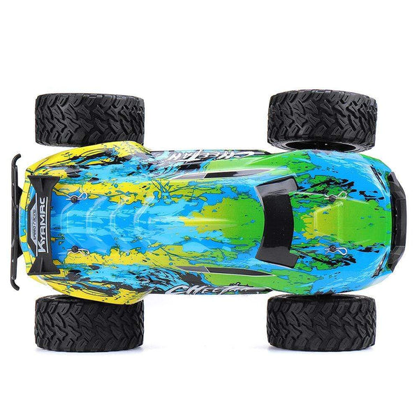 1/14 2WD 2.4G Big Foot Off-road RC Car High Speed 20km/h Vehicle Models - Green