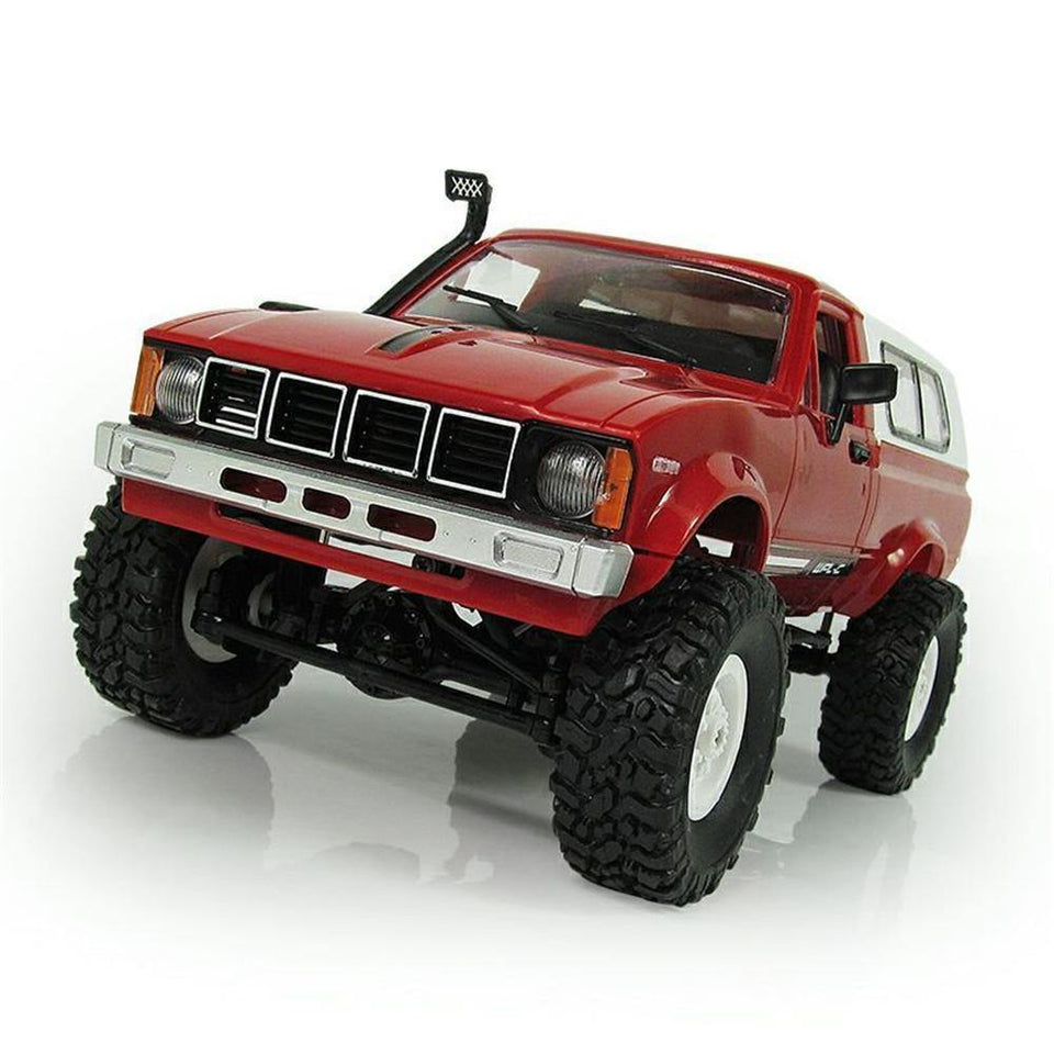 1:16 4WD 2.4G Military Buggy Truck Crawler Off Road RC Car Building Set - RC Cars Store