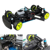 Fuel Drift Car Chassis Frame Kit GT2B RC Compatible With Toyan VX Engine HSP 94122 1:10 - RC Cars Store