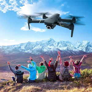 Drone With Camera RC Quadcopter FPV Fold Professional 4K Height Hold Dual GPS - RC Cars Store