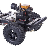 1:10 Fuel RC Car Set Frame Toyan FS-S100A Methanol Engine With Remote Controller - RC Cars Store