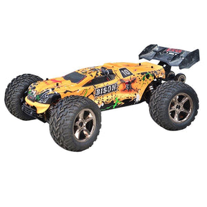 RC Car Off-road Vehicle 1.10 50 Mph Bigfoot Racing Bison VKAR Electric Model - RC Cars Store