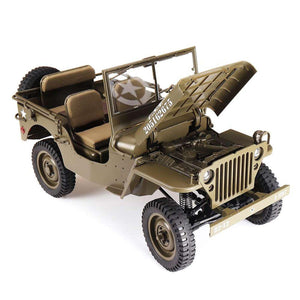RC Car Army Vehicle Model Roc Hobby FMS 1941MB 1.6 2.4G SCALER - RC Cars Store