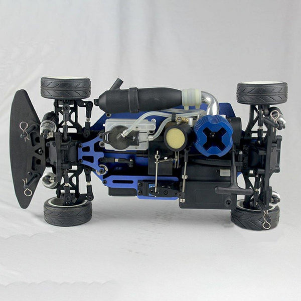 VRX RH1003 1/10 2.4GHz 4WD Wireless RC Car Nitro RTR Vehicle with Force.18 Methanol Engine - RC Cars Store