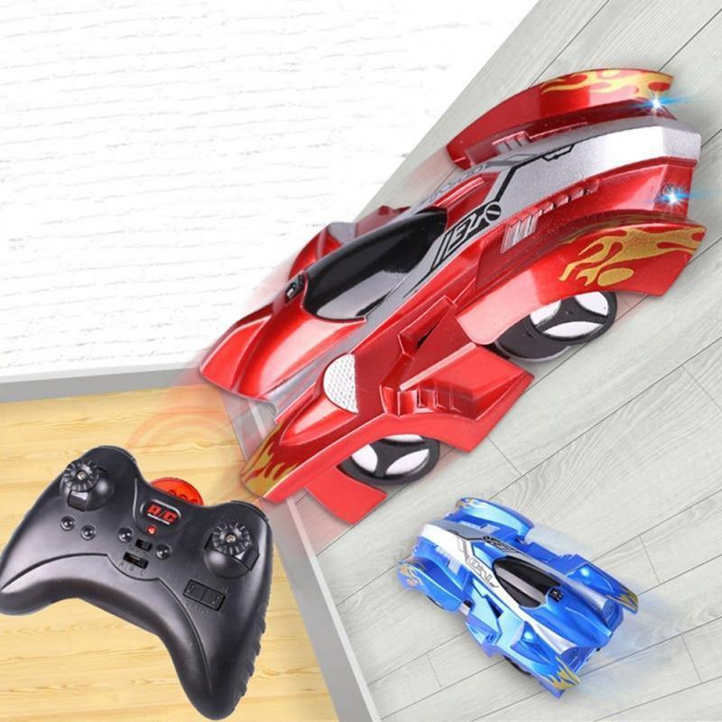 Wall Climbing Climber RC Racer Radio Remote Control Racing Car Toy - RC Cars Store