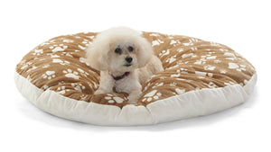 Paws-Cappuccino Canine Cloud® Pet Lounger