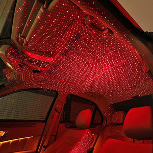 Hot Sale-Car Atmosphere Lamp Interior Ambient Star Light