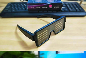(HOT SALE)LED Glowing Light Glasses