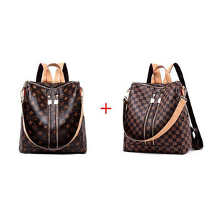 【Free Shipping】Fashion Leather Backpack-60%OFF ONLY FOR TODAY!