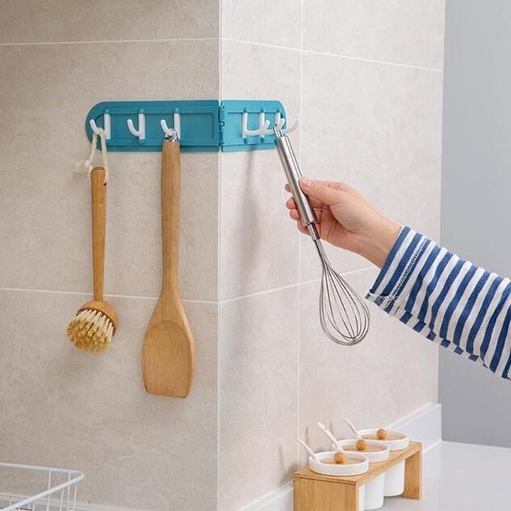 Wall Corner Folding Hook- Things You Should Be Hanging in Your House for Better Storage
