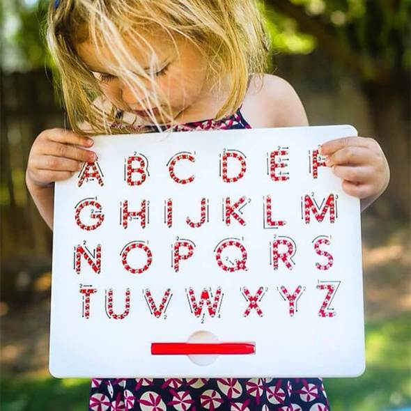 Ms. Mona's Magnetic Alphabet Learner