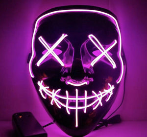 Halloween-Party & Rave Glow Mask (Buy 2 Get 10%OFF and Free Shipping)